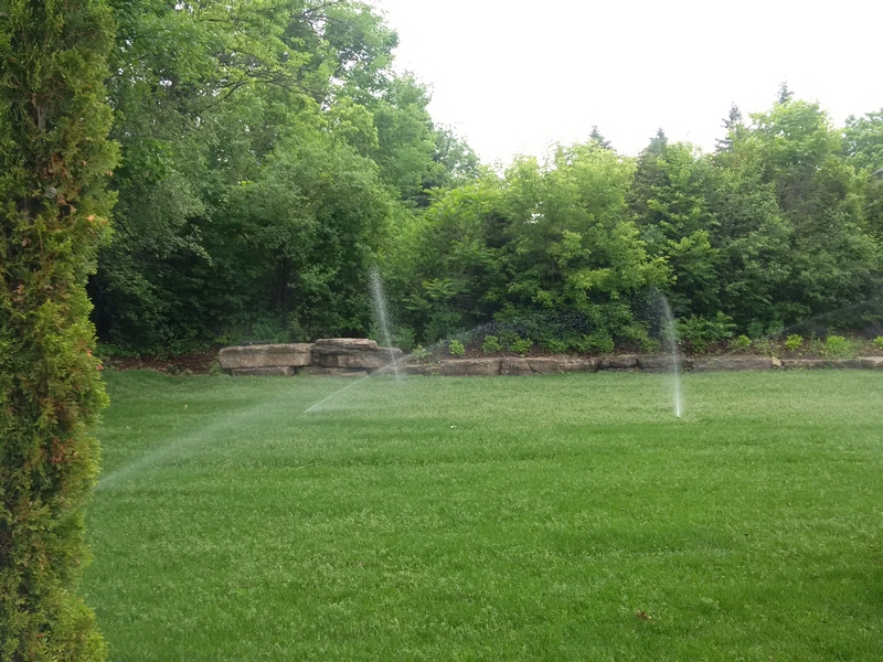 How an Irrigation Sprinkler System Can Benefit Your Toronto Area Garden and Lawn